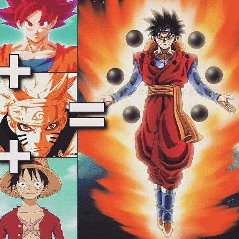 Dragon Ball: Goku Tendría Este Aspecto Si Se Fusionase Con