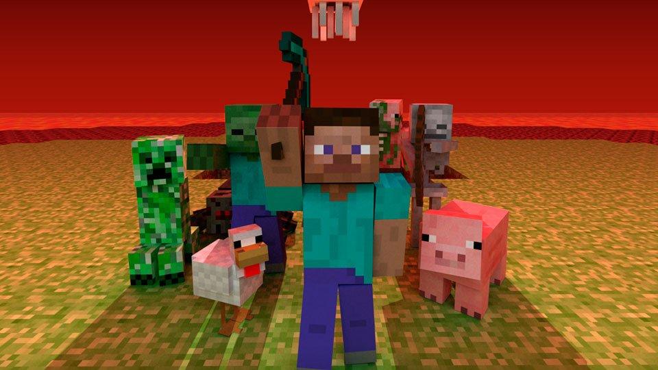 Si Minecraft fuese real sería este mundo de pesadilla