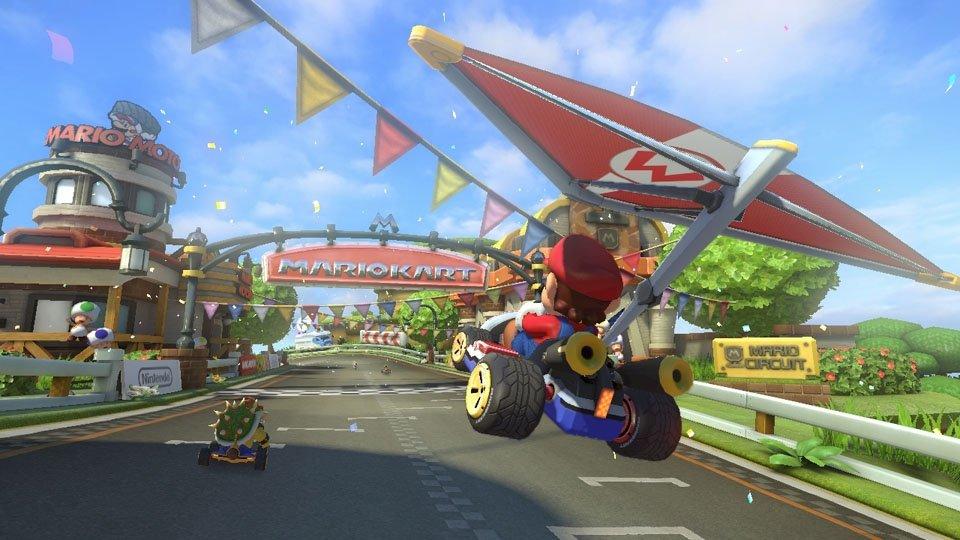 Esto es lo que hay más allá de los límites de los mapas en Mario Kart
