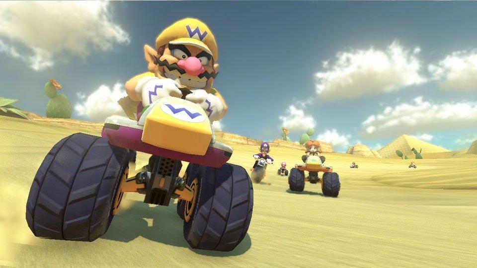 Mario Kart 8 se estrenaría en Nintendo Switch poco después de la llegada de la consola