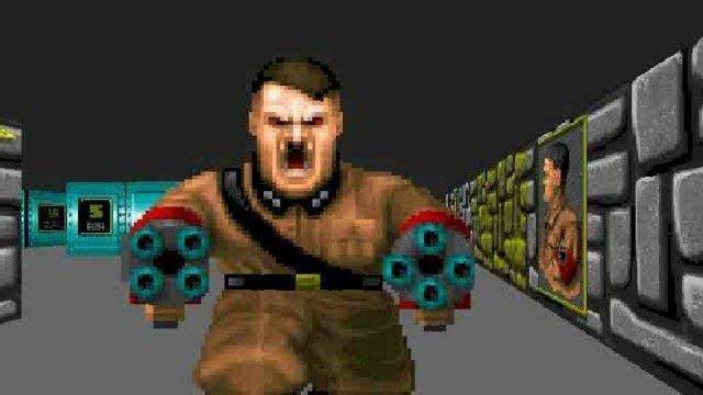 Así se juega a Wolfenstein 3D en una Game Boy Color