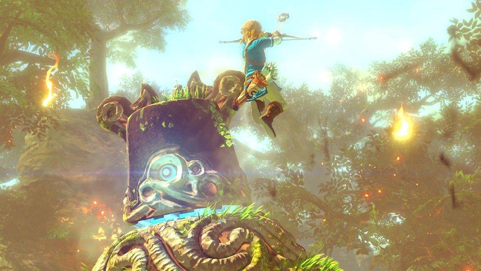 The Legend of Zelda: Breath of the Wild muestra nuevos detalles a través de vídeos