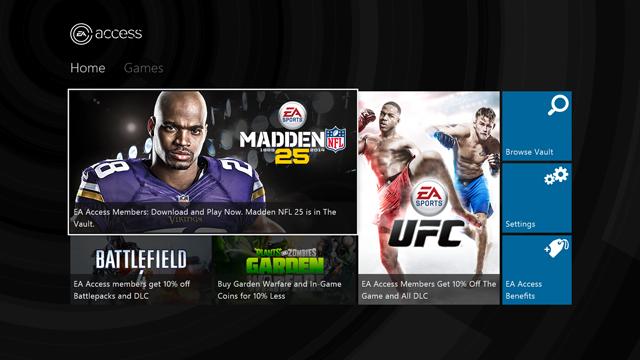 EA Access, gratis esta semana con Xbox Live Gold