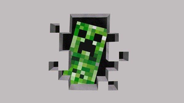 Delincuente atraca un comercio disfrazado del Creeper de Minecraft