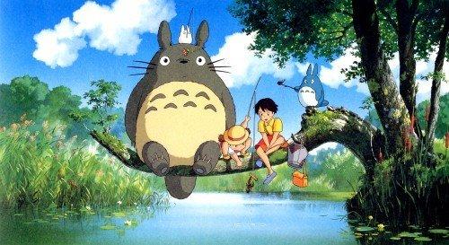 Totoro es el protagonista de este tatuaje