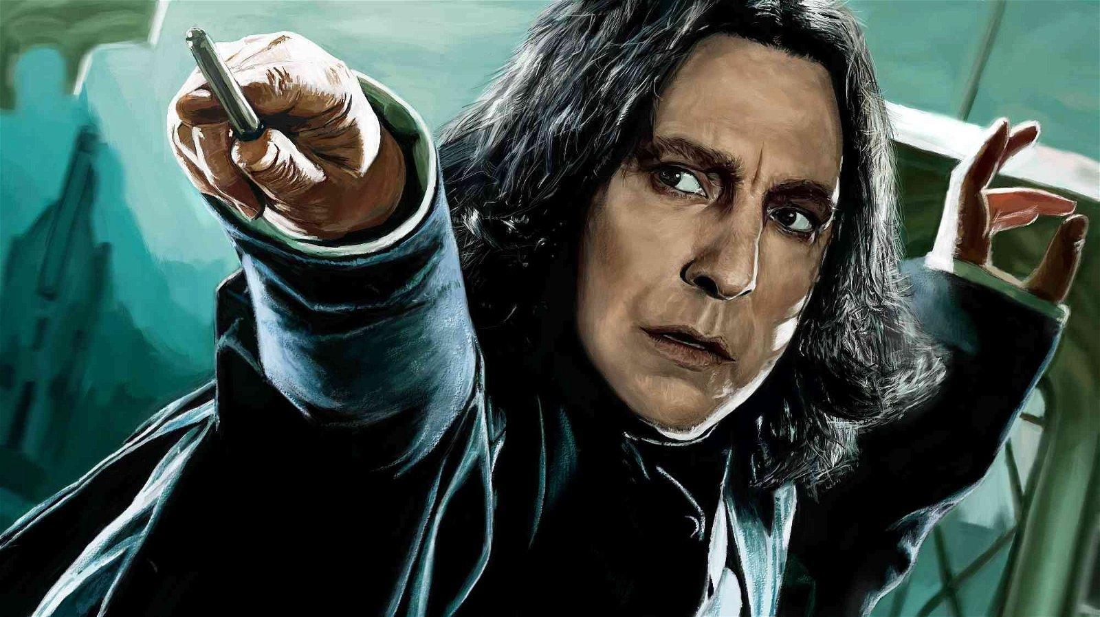 Harry Potter: Los fans tienen una nueva e inquietante teoría sobre Snape
