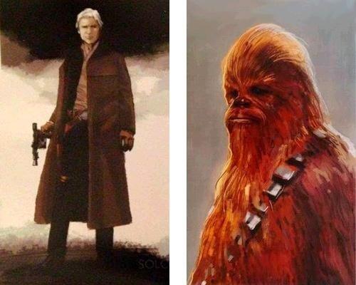 Dibujos Para Colorear Star Wars El Despertar De La Fuerza: Star Wars Episodio VII: El Despertar De La Fuerza: Así