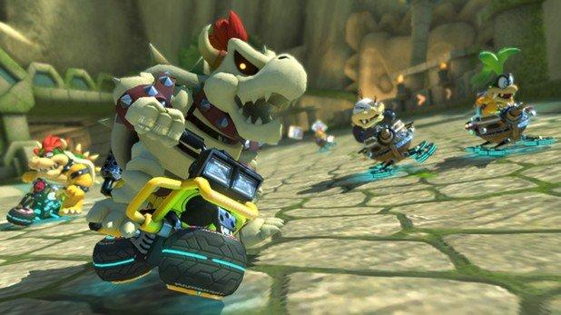 Mario Kart 8: Deluxe vendió más de un millón de copias en su primer fin de semana