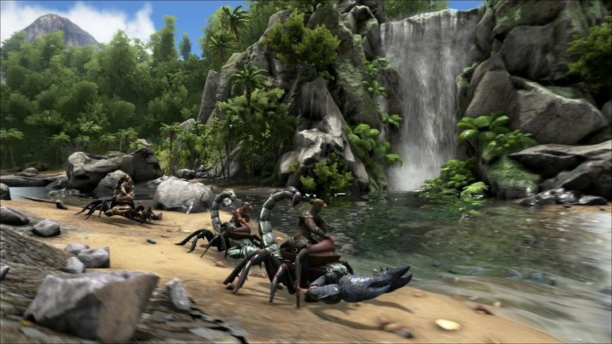 Ark: Survival Evolved tiene un mod que introduce elementos de Monster Hunter