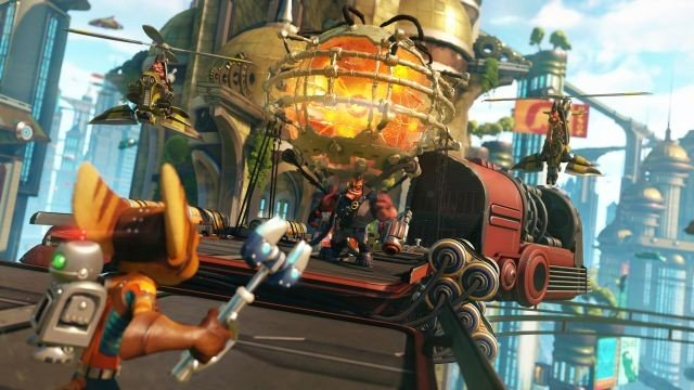 Ratchet & Clank desvela sus mejoras visuales en PlayStation 4 Pro