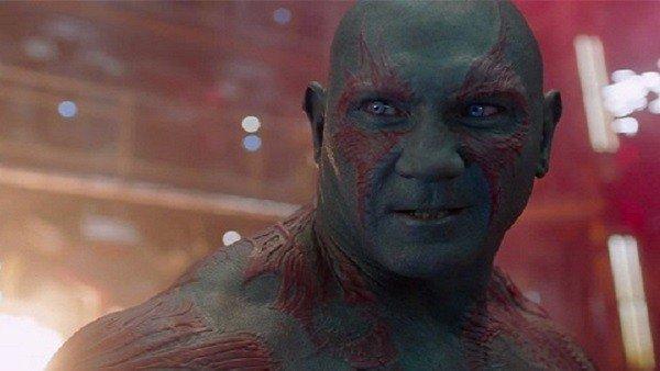 Guardianes de la Galaxia Vol.2: James Gunn desvela el verdadero color de Drax