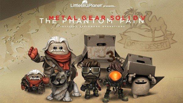 Little Big Planet 3: Ya disponibles los trajes de Metal Gear Solid V