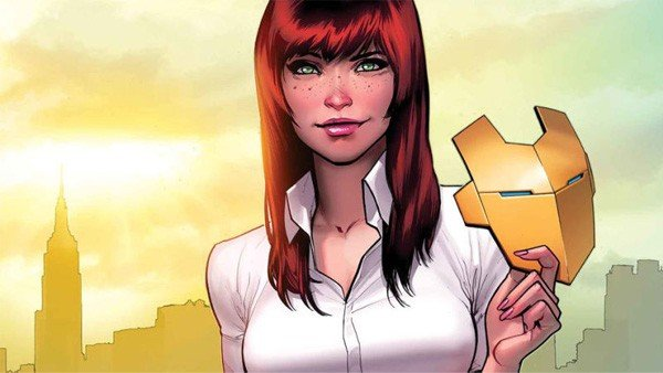 Marvel hace protagonista de sus portadas a Mary Jane Watson