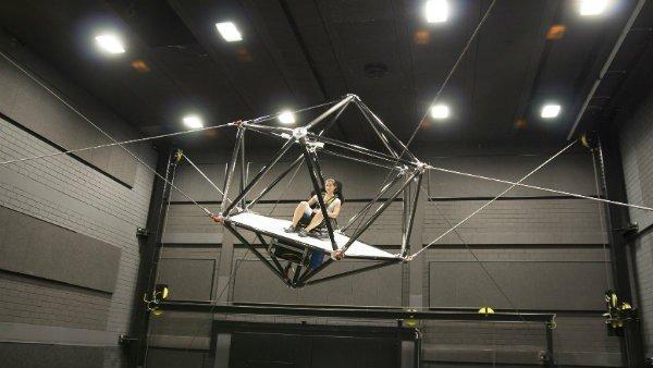 Cable Robot Simulator: La realidad virtual nos hará volar