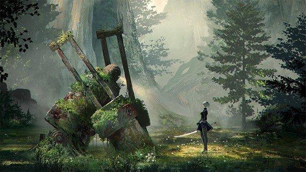 NieR: Automata muestra un extenso gameplay de 15 minutos