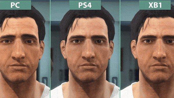 Fallout 4, comparado gráficamente por plataformas