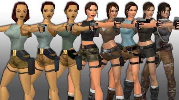 Tomb Raider: Lara Croft ha evolucionado así en los videojuegos