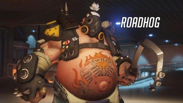 Overwatch tiene un bug que hace que el gancho de Roadhog desafíe las leyes de la física