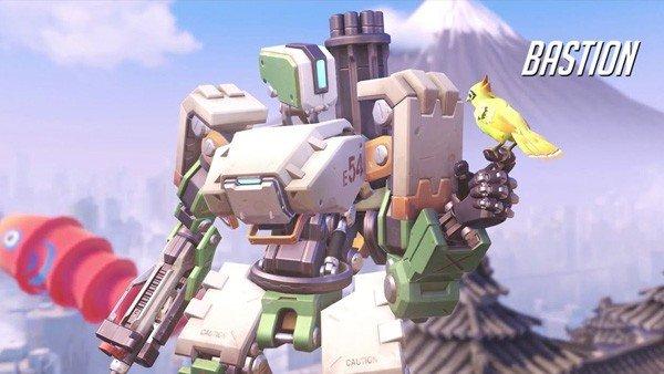 Overwatch: Bastion y Genji tienen su versión LEGO