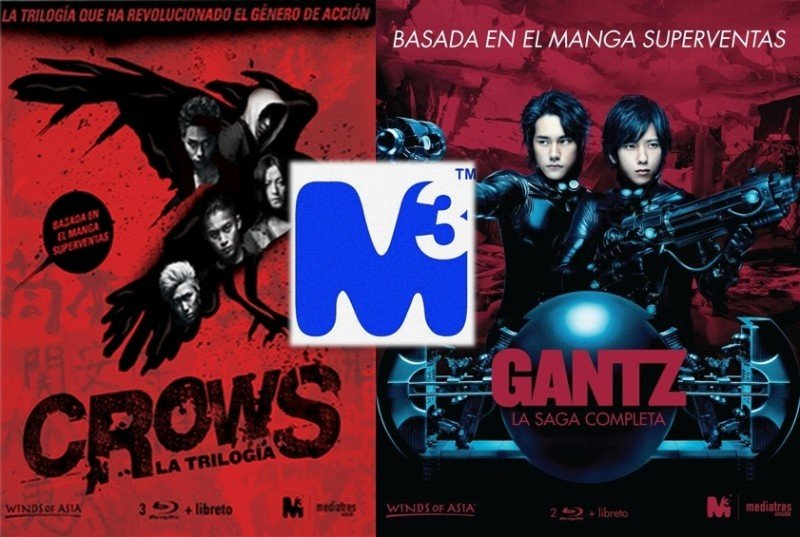 No Solo Gaming: Novedades de Media3 Estudio para el Salón del Manga: Packs de Gantz y Crows
