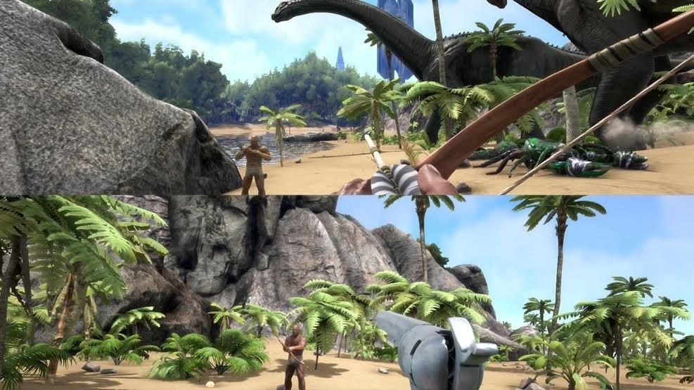 ARK: Survival Evolved contará con pantalla dividida para multijugador en Xbox One