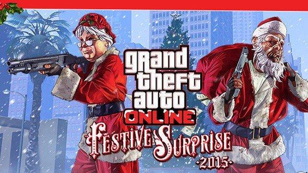 Grand Theft Auto V va a celebrar la navidad con muchas sorpresas