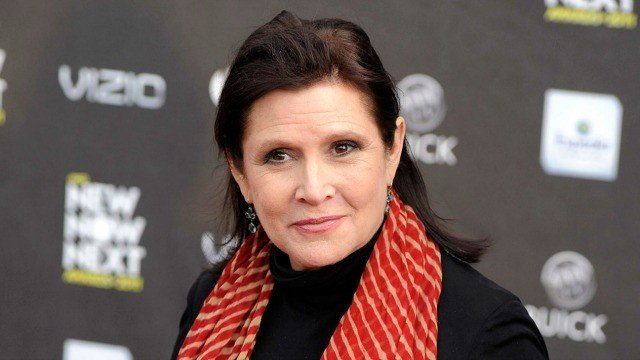 Muere Carrie Fisher, la princesa Leia de Star Wars