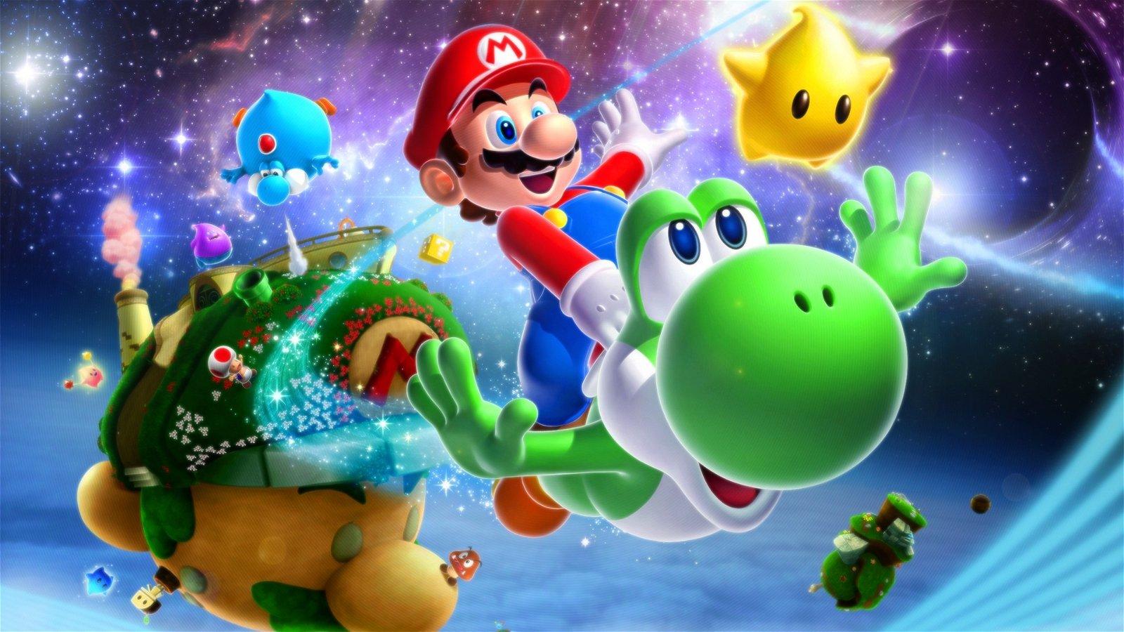 Así sería Super Mario Galaxy en la vida real