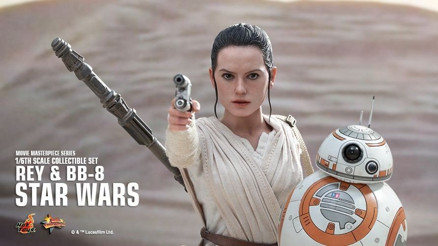 Star Wars VII cuenta con figuras de acción que son tan reales que parecen los actores