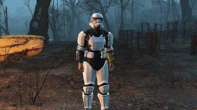 Convierte Fallout 4 en Star Wars con estos mods
