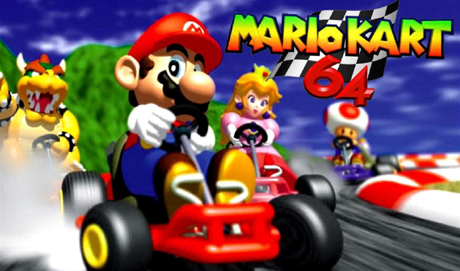 Mario Kart 64: Logran jugar usando como mando un coche de verdad