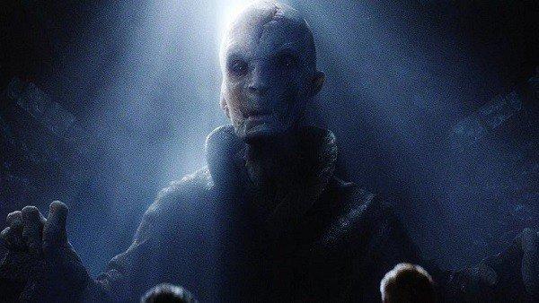 Star Wars: Los Últimos Jedi: Podría haberse filtrado la verdadera identidad del Líder Supremo Snoke