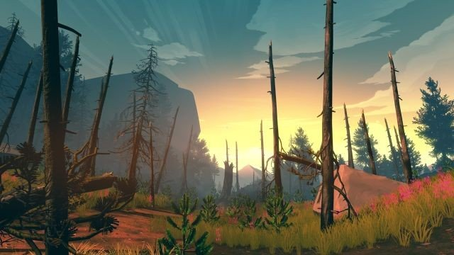 Firewatch: Un usuario crea una montaña rusa virtual inspirada en el juego indie