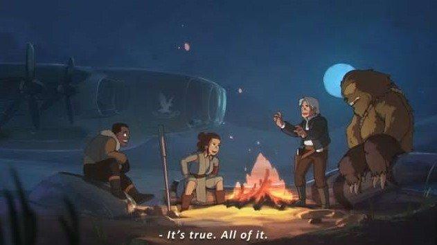 Star Wars: Recrean el Episodio VII al estilo Studio Ghibli