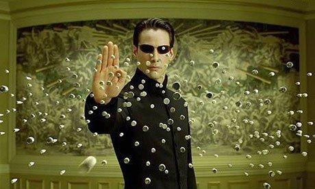 Matrix sería así si Forrest Gump fuera el protagonista