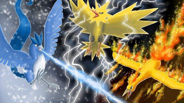 Pokémon GO podría incluir a Legendarios en sus futuros eventos