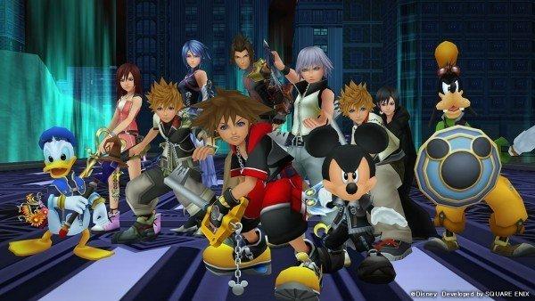 Kingdom Hearts Dream Drop Distance HD estará traducido al castellano