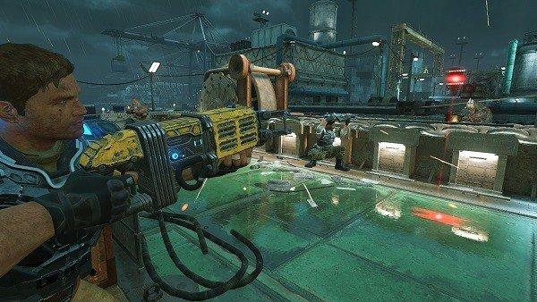 Gears of War 4 tiene un tamaño en disco desorbitado