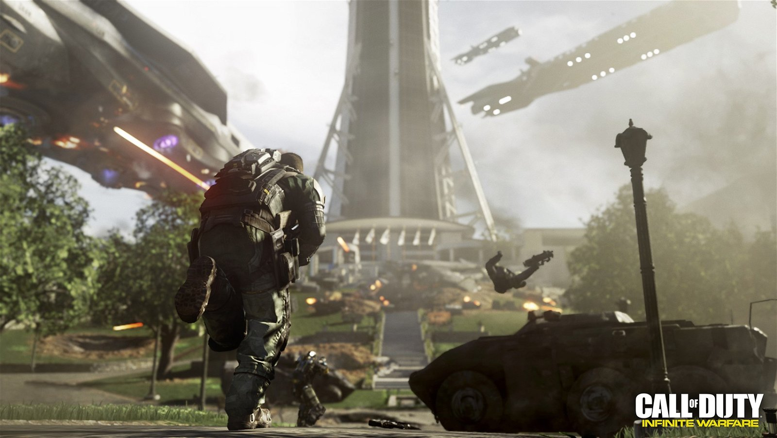 Infinity Ward tiene grandes planes a largo plazo para su nueva serie Call of Duty: Infinite Warfare