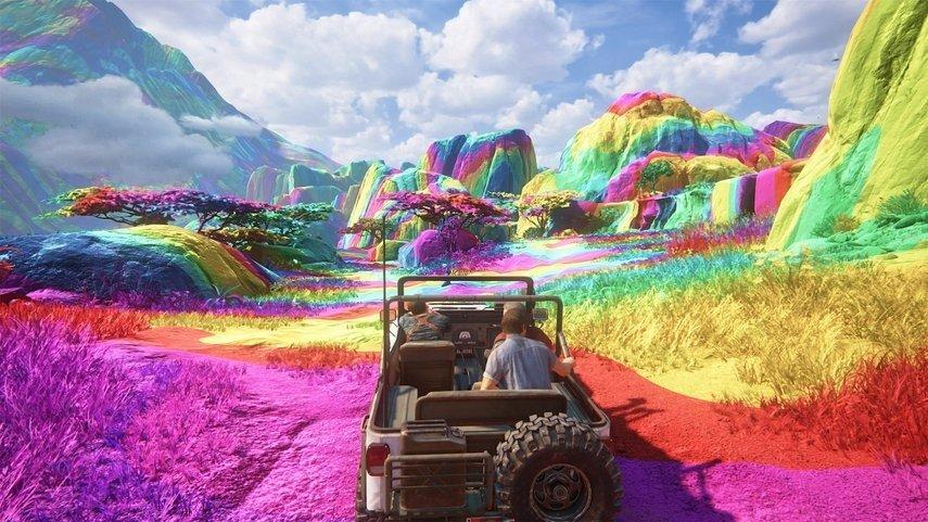 Uncharted 4 se puede jugar con diferentes filtros