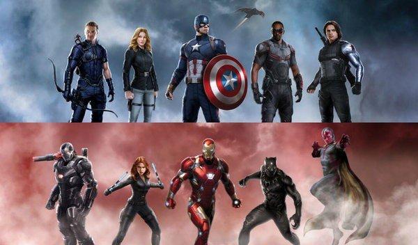 Capitán América: Civil War revela parte de su arte conceptual