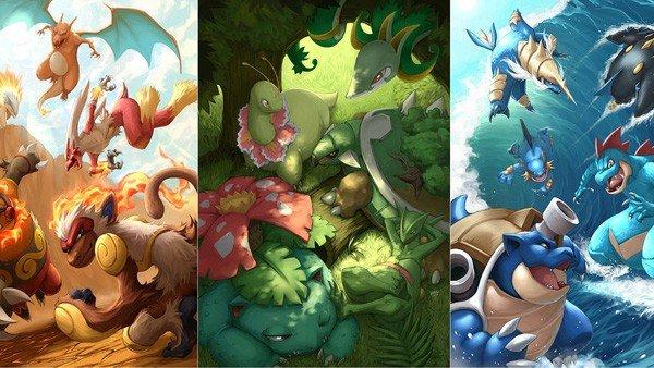 Pokémon: Las criaturas iniciales, clasificados de peor a mejor