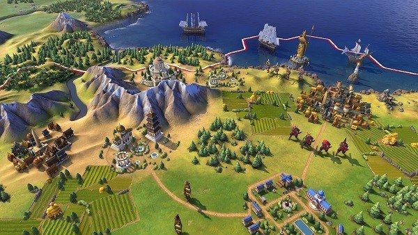 Civilization VI: Todo lo que haya en su mapa será destructible