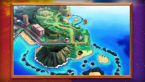 Pokémon Sol/Luna tendrá lugar en varias islas