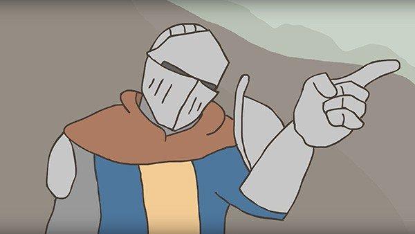 Dark Souls 2: Un fan crea un corto animado inspirado en su aventura
