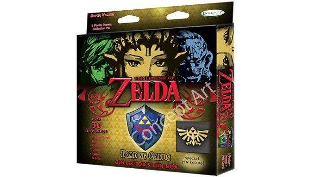 Un juego de cartas coleccionables de Zelda aparece en la red