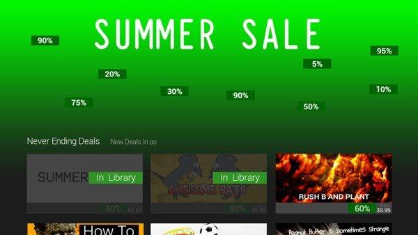 Steam: Las Ofertas de Verano ya tienen su propio juego
