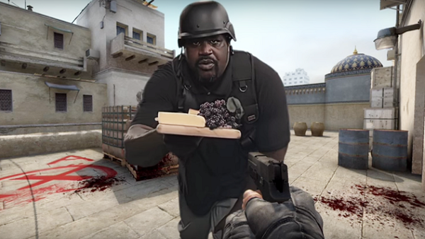 Counter-Strike: Shaquille O`Neal protagoniza el mejor anuncio que puedas ver