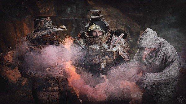 Impresionante cosplay inspirado en la Inquisición de Warhammer 40K