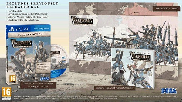 Ganadores concurso Valkyria Chronicles Remastered
